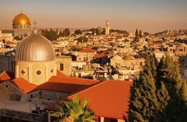 The classic image: Jerusalem has the sort of skyline that fits into a bible story