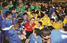 Embassy launches Coexistence Through Football in Israel