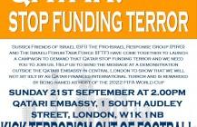 SFI: We Demand that Qatar Stops Funding Terror